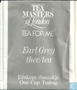 Earl Grey thee/tea