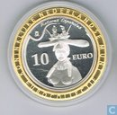 Spanje 10 euro 2009 PROOF Salvador Dali