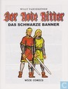 Comic Books - Red Knight, The [Vandersteen] - Das schwarze Banner