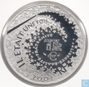 "France 1½ euro 2002 (PROOF) ""snow white"""
