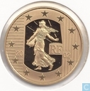 "France 20 euro 2002 (PROOF) ""farewell to the Franc"""