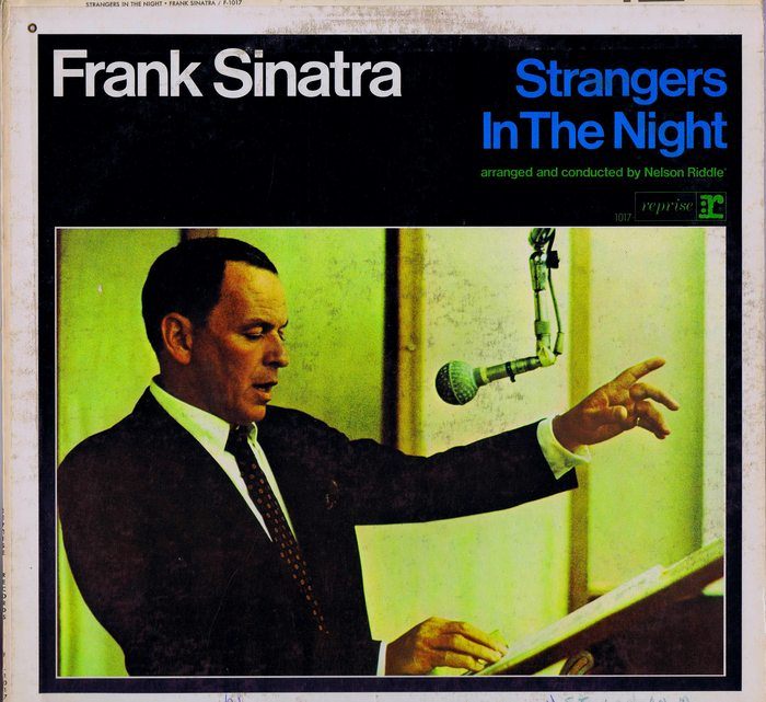 Frank Sinatra - LP Strangers In The Night (reprise F 1017 ...