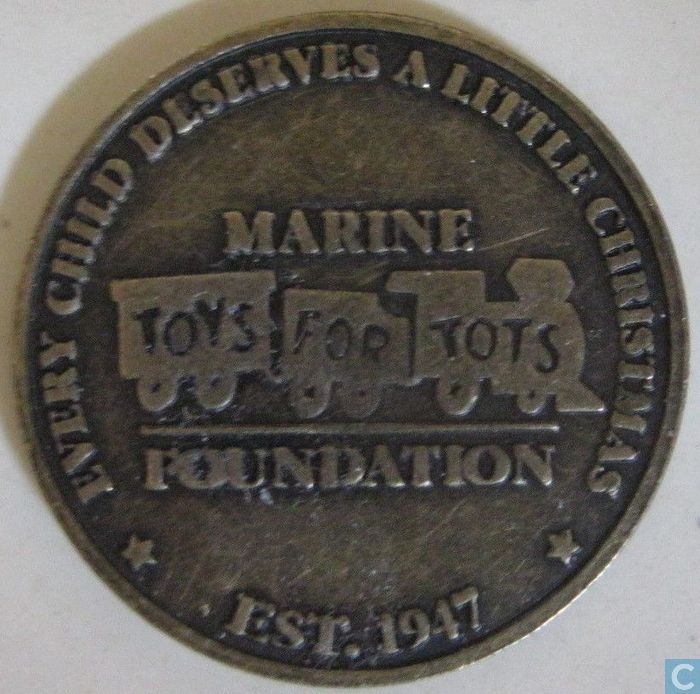 Toys For Tots Foundation : Usa toys for tots us marine foundation souvenir tokens