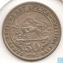 East Africa 50 cents 1943 (I - Bombay)