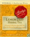 Lemon Zest  Herbal Tea