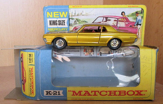 Matchbox King Size - Schaal 1/43 - Mercury Cougar  K- 21