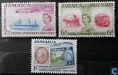 100 years stamps Jamaica