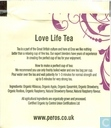 Tea bags and Tea labels - Eros - red berries