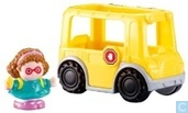 Little people Maggie and yellow schoolbus
