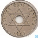 Brits-West-Afrika 1 penny 1943 (H)