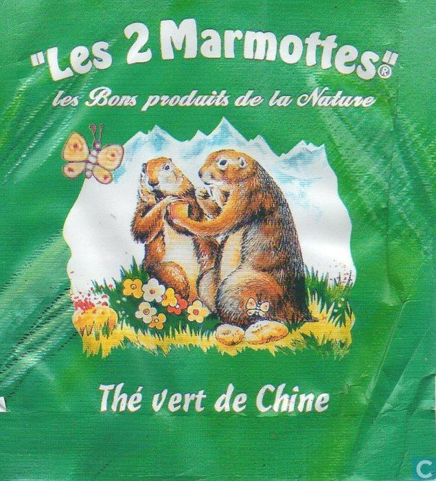 th vert de chine les 2 marmottes catawiki