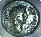 Roman Empire 27 BC-14 AD, AE axis, Divus, August under Tiberius, Lugdunum, 15-10 BC