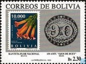 150 years stamps Brazil