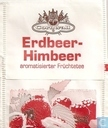 Tea bags and Tea labels - Cornwall - Erdbeer-Himbeer