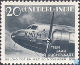 10 years aviation Dutch East Indies