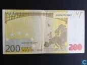 Germany 200 Euro (Misprint)