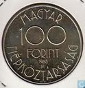 "Hongarije 100 forint 1988 ""World Cup Football 1990"""