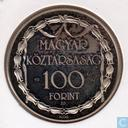 "Hungary 100 forint 1990 ""Hungarian Theatre"""