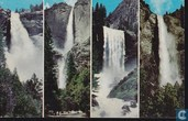 319.K Yosemite National Park California, the four Falls