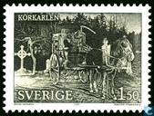 Postage Stamps - Sweden [SWE] - Thy Soul Shall Bear Witness!