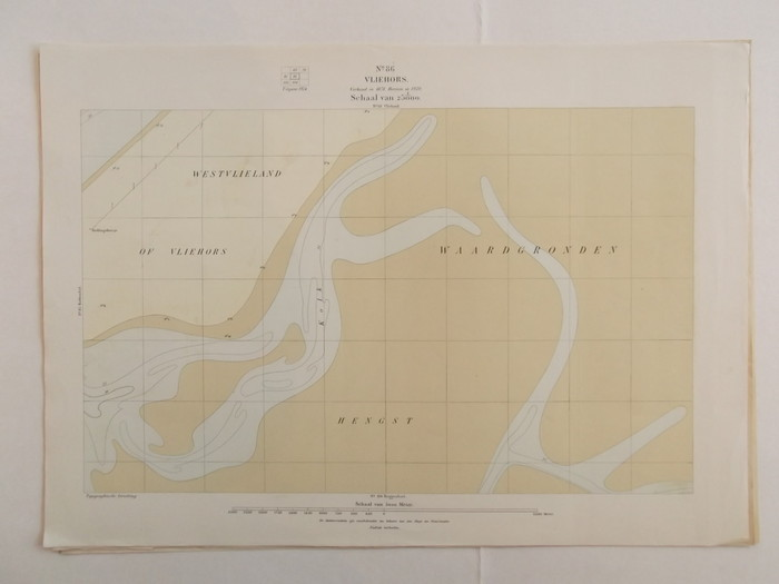 The Netherlands Vlieland Texel North Holland 26 topographic maps