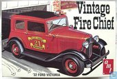 Ford Victoria Vintage Fire Chief