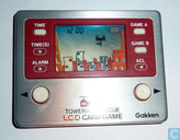 gakken lcd card game Towering Rescue