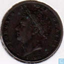 United Kingdom 1 farthing 1828