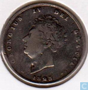 United Kingdom 1 shilling 1825