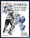 Postage Stamps - Sweden [SWE] - 350 years New Sweden