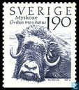 Postage Stamps - Sweden [SWE] - Muskox (Ovibos moschatus)