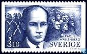 Timbres-poste - Suède [SWE] - Raoul Wallenberg
