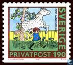 Postage Stamps - Sweden [SWE] - 80th birthday of Astrid Lindgren
