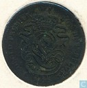 Belgium 2 centimes 1835 (narrow edge)