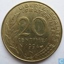 France 20 centimes 1994 (bee)