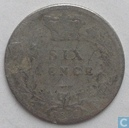 United Kingdom 6 pence 1886