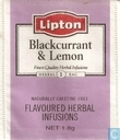 Blackcurrant & Lemon