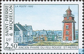 Old lighthouse on St. Pierre
