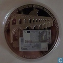 "Duitsland 5 euro 2002 ""European Currencies"""