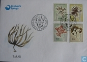 Postage Stamps - Faroe Islands - Plants