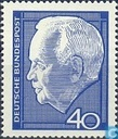 Postage Stamps - Germany, Federal Republic [DEU] - Lübke, Heinrich 1894-1972