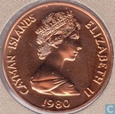 Kaaimaneilanden 1 cent 1980 (PROOF)