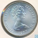 "Cayman Inseln 25 Dollar 1977 ""25th Anniversary of the Accession of Queen Elizabeth II"""