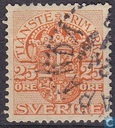Postage Stamps - Sweden [SWE] - 25 Brown