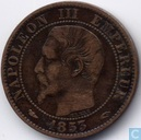 France 5 centimes 1853 (A)