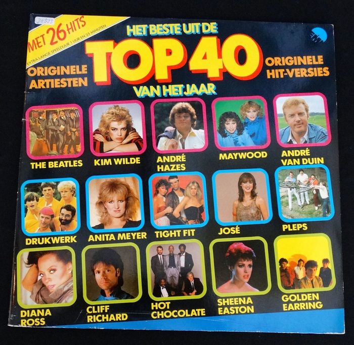 50 Jaar Top 40 Postzegels