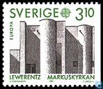 Postage Stamps - Sweden [SWE] - Europe – Modern architecture