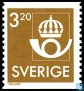 Postage Stamps - Sweden [SWE] - Post Emblem