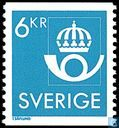 Postage Stamps - Sweden [SWE] - 600 blue / green