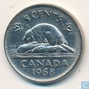 Coins - Canada - Canada 5 cents 1968